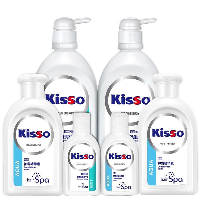 6瓶,威露士 极是无硅油 去屑洗护套装 洗发水750ml*2瓶+护发素200ml*2瓶