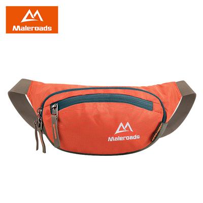 户外大容量手机腰包男女多功能运动跑步防水做生意收钱的包胸包