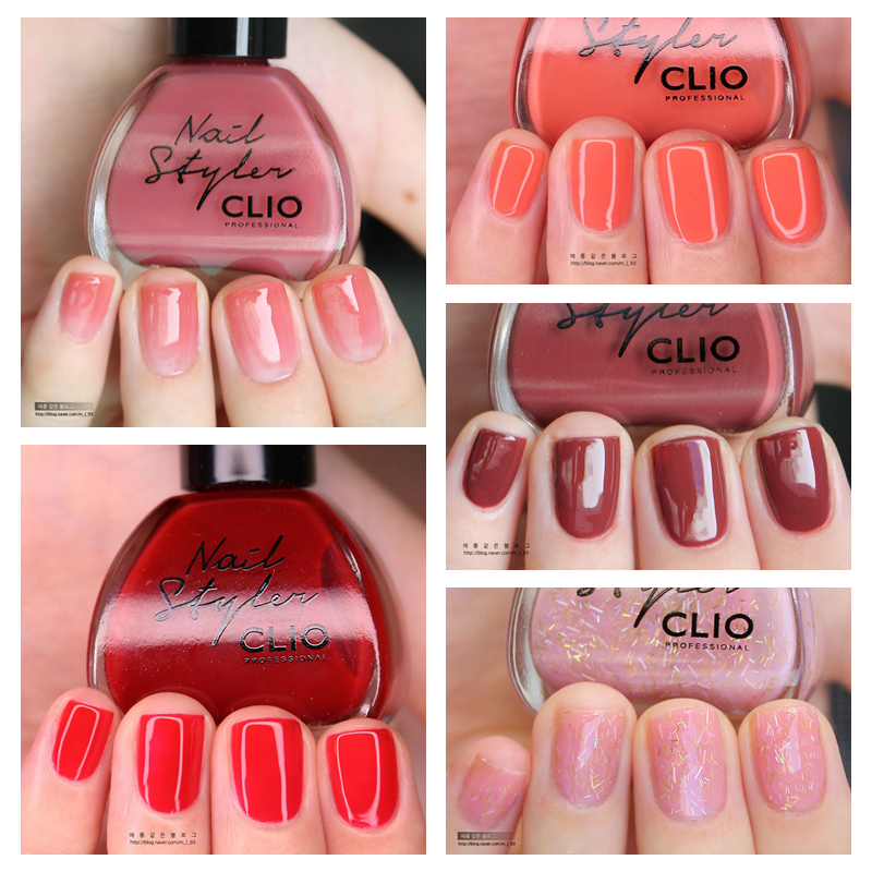 USD 7.24] (Clearance) CLIO graduated nail polish - Wholesale from ...