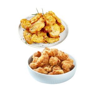 烈儿专享!绝世鸡米花盐酥+鸡块组合