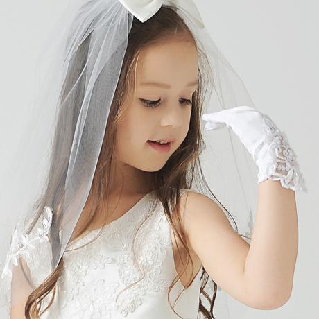 | Цена 788 руб | Цветочница свадебное перчатки общественный основной белый Кружево короткий Платья перчатки детские белый Указывать пальцем перчатки