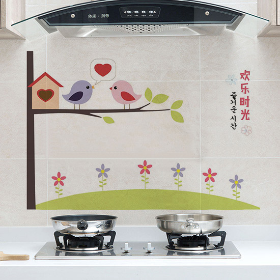 Kitchen Oil Proof High Temperature Resistant Self Adhesive Paper Waterproof Tile Wall Cooking Table Lampblack Machine Cabinet Moisture Proof