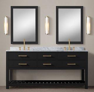 Пол, тип рок доска ванная комната мыть сито тайвань в ванной шкафы сочетание нордический дерево свет экстравагантный современный простой мыть бассейн кабинет, цена 65857 руб