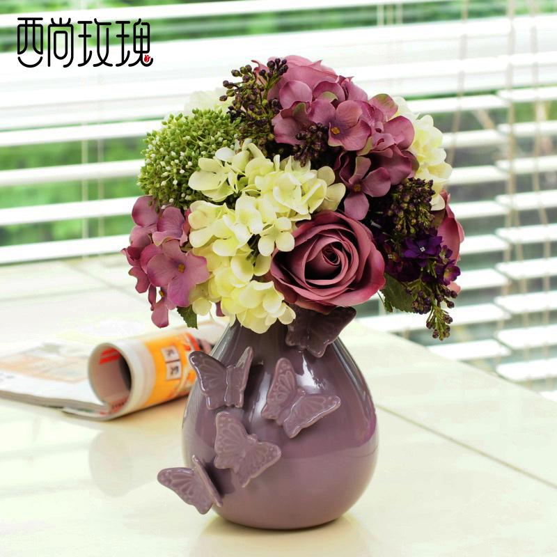 Цветочная ваза West still rose