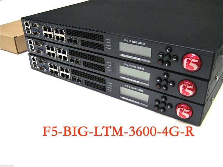 F5-BIG-LTM-3600- 4г -R балансировка нагрузки сервера полностью новый зона пакет Гарантия 1 год гарантии