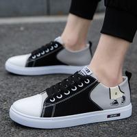2020 новая коллекция лето мужской кеды мужской башмак корейская версия для отдыха обувь из ткани панель Дикая обувь воздухопроницаемый башмак модные обувь