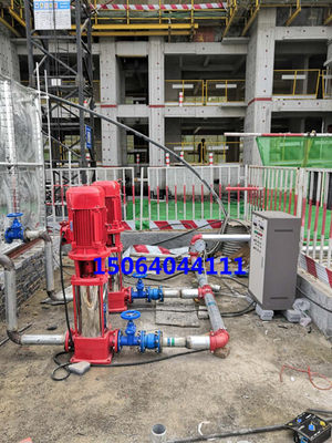 Shandong's new Jinan manufacturer sells temporary fire-fighting frequency conversion water supply equipment for maintenance and reconstruction construction sites