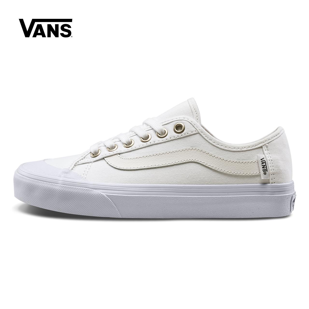 Vans Vans Mùa xuân đôi giày vải màu trắng | VN0A3QXZWWW