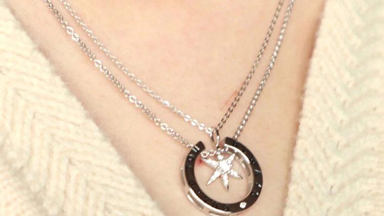 六芒星守护项链,圣诞送女友表满满爱意