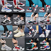 Ins super fire men's shoes autumn and winter Korean version of the trend of sports and leisure tide shoes wild old warm and velvet cotton shoes