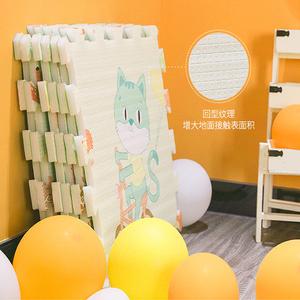 宝宝爬行垫加厚无味婴儿客厅拼接家用儿童垫子泡沫地垫爬爬垫拼图