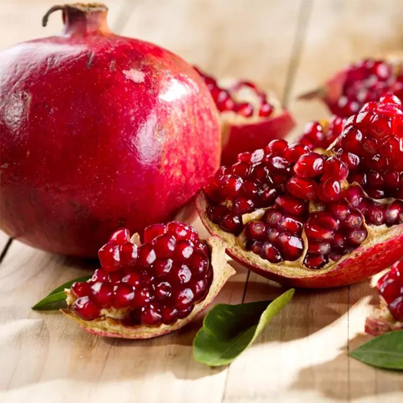 突尼斯软籽石榴新鲜当季水果现摘红石榴水果甜软子榴河南荥阳3斤