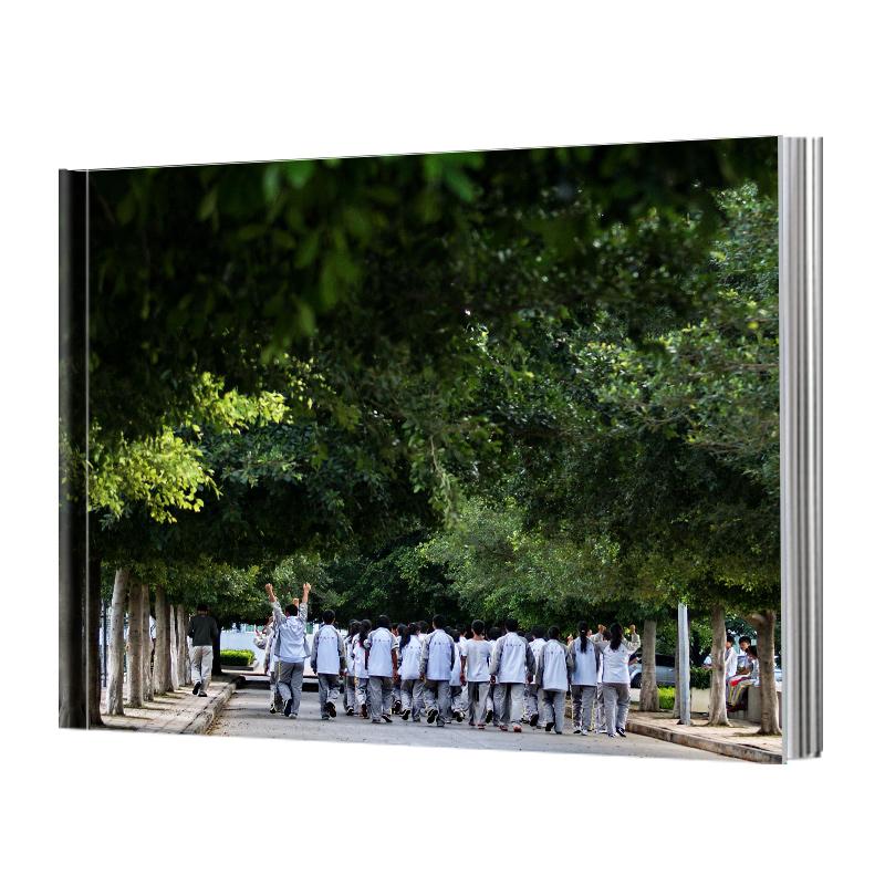 横款相册照片书定制 情侣写真diy手工杂志制作幼儿园毕业纪念册