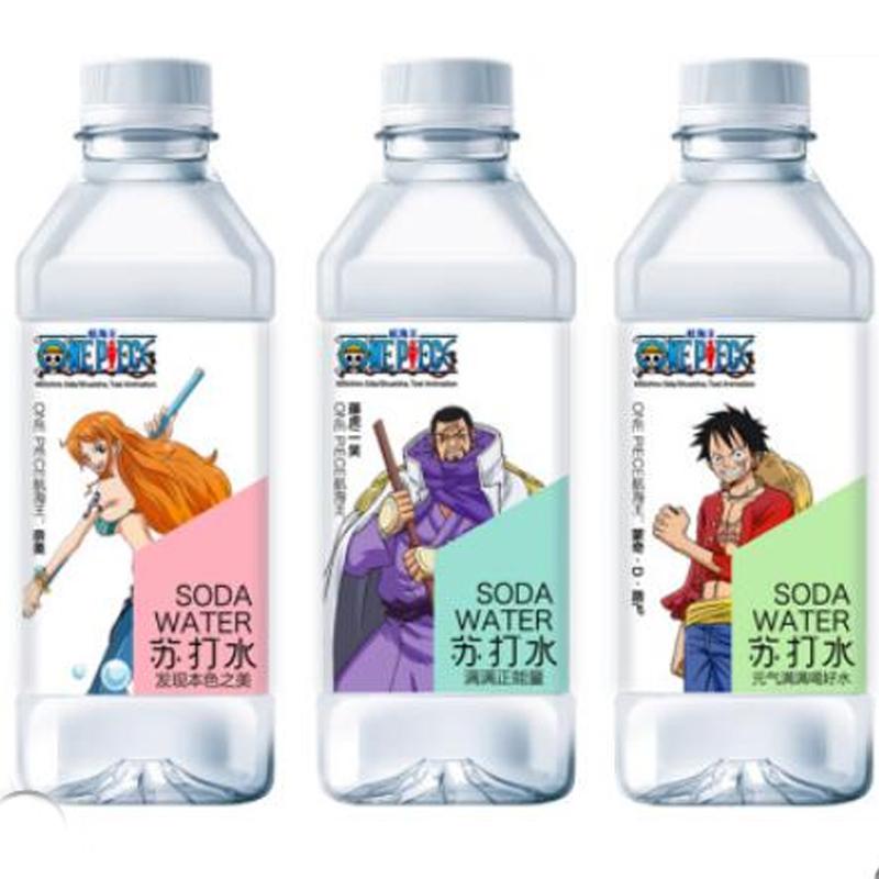 悠小君航海王苏打★水无糖无气弱碱性水网红饮料矿泉12瓶整箱◆饮品