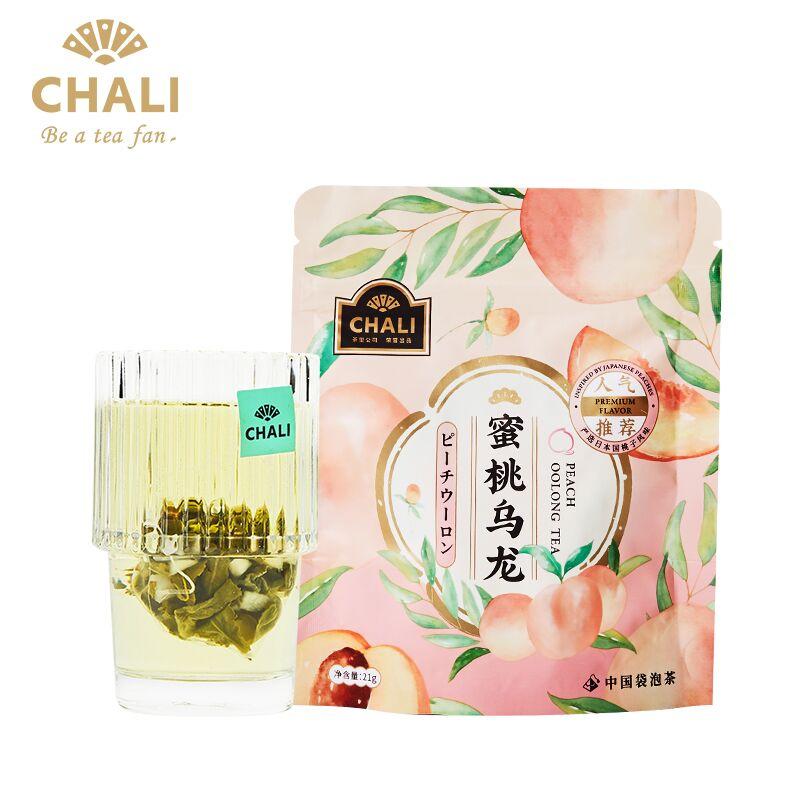 4盒ChaLi茶里蜜桃乌龙荔枝红茶袋泡茶水果茶白桃乌龙茶叶茶冷泡茶