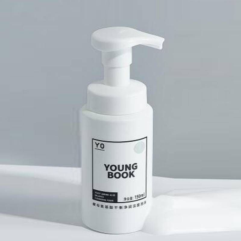 颜百科洗面奶男泡沫氨基酸洗面奶女敏感肌温和洁面乳学生控油补水