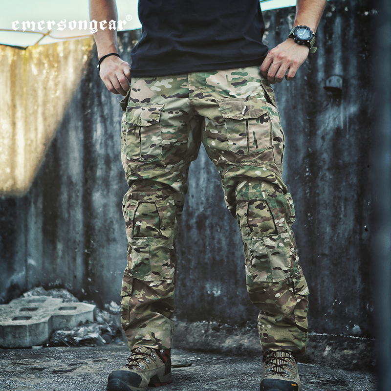 Emerson blue standard original G3 tactical trousers male MC camouflage  pants Special Forces Training men outdoor overalls