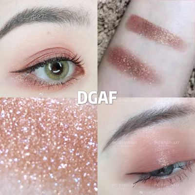 colourpop土豆泥单色眼影卡拉泡泡 眼影单色dgaf set moonwalk