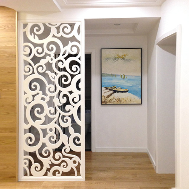 Dongyang Woodcarving Ceiling Hollow Carved Board Mdf Carved Board Grate Tv Back Wall Porch Partition Screen