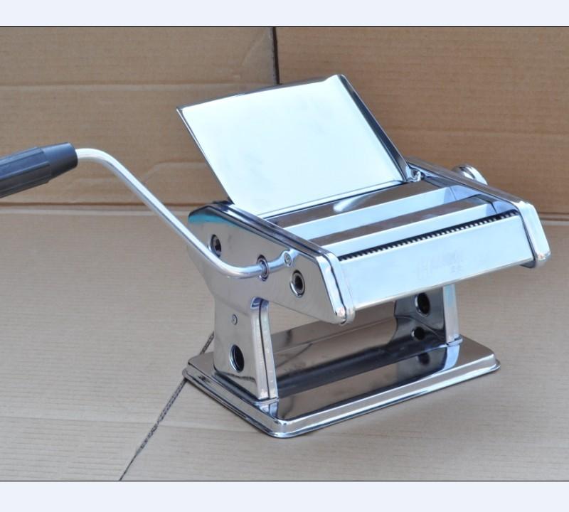 家用宏企面条机压面机挂面机饺子皮机小型手动手摇特价包邮