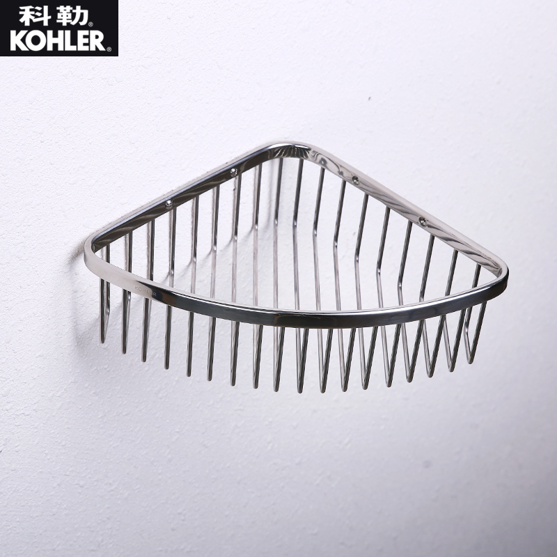 USD 81.61] Kohler Genuine Bathroom Hardware Shelf Triangle Basket .