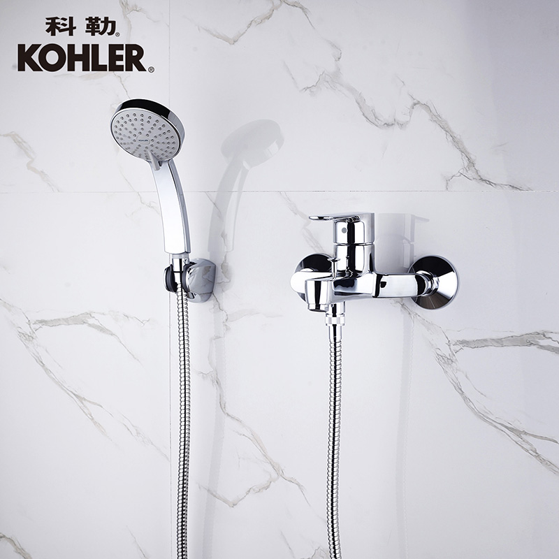 USD 361.25] Kohler Bath faucet genuine wall-mounted bath shower ...