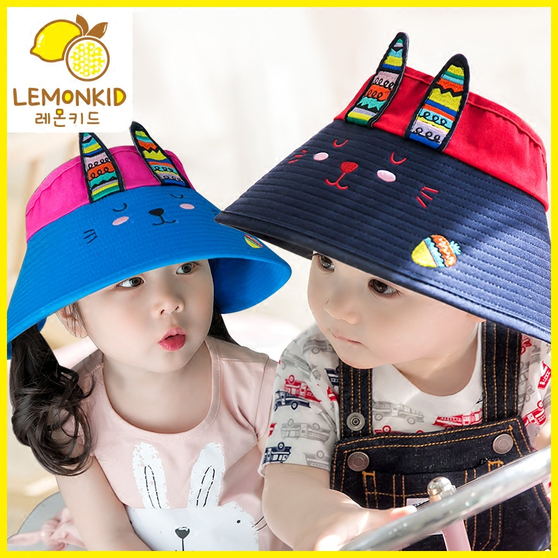 Children s sun hat men and women sunscreen baby hat summer boys and girls  children empty top 952fede2d