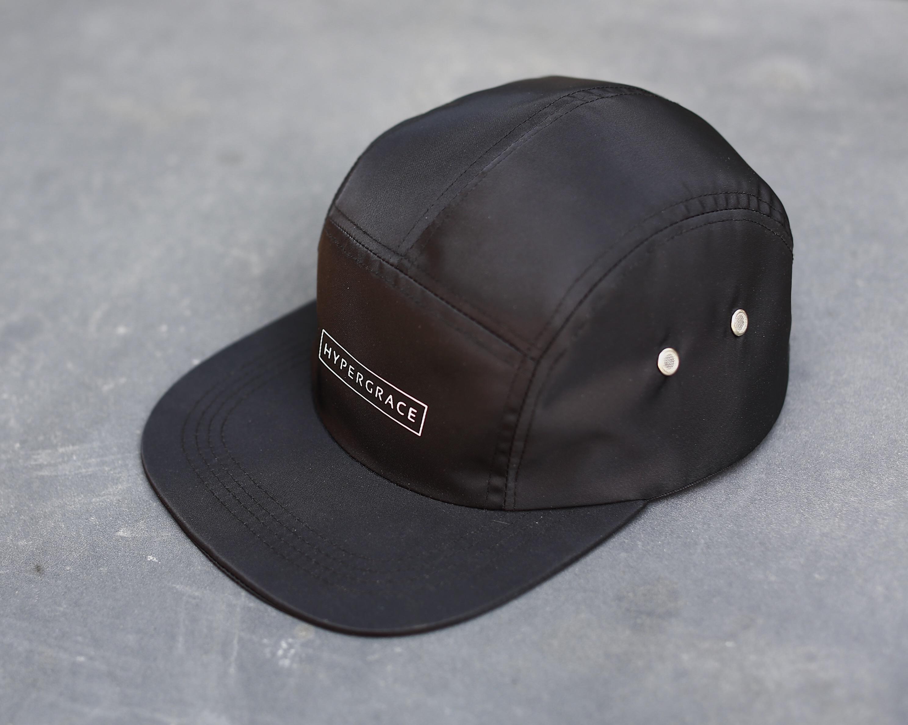 34fca51acb HYPERGRACE five piece cap waterproof nylon CAMP CAP 5-Panel shade baseball  five piece cap
