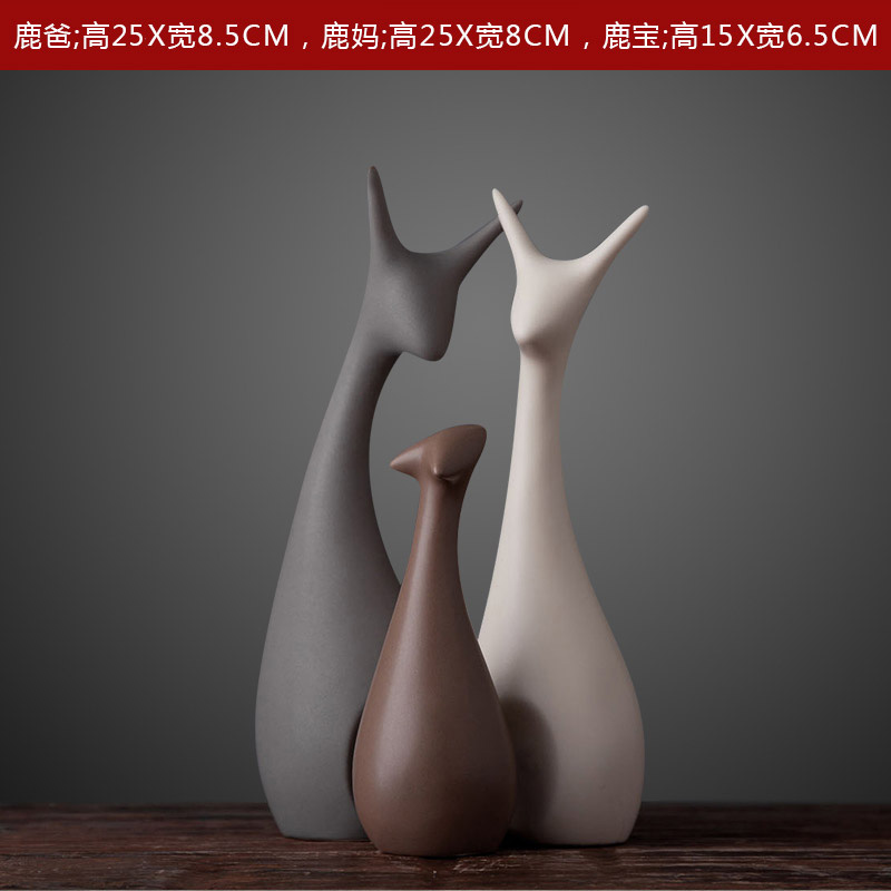 The family of three deer [set price] has been selected by 85% of users, more than one purchase, better matching effect
