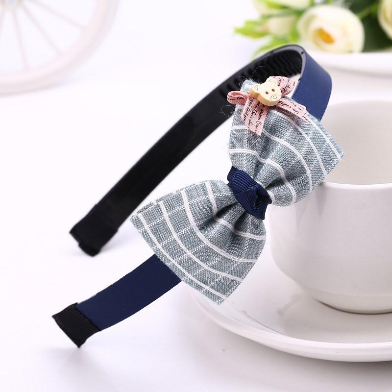满23.52元可用11.05元优惠券韩国儿童女布艺蝴蝶结超仙公主发箍
