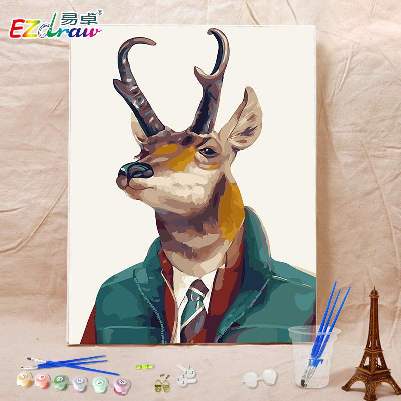 Роговый олень