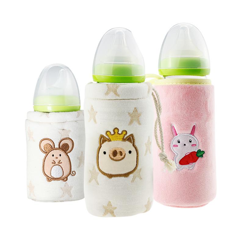 通用贝亲奶瓶保温套恒温保暖袋套冬季外出便携式婴儿宝宝暖奶神器