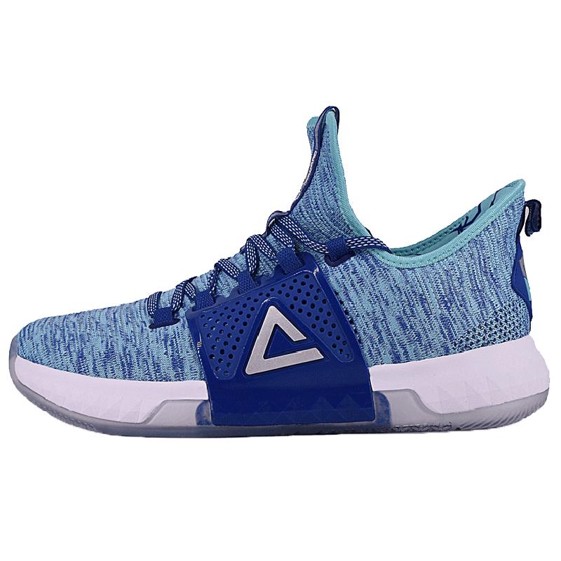 Giày bóng rổ đỉnh cao chiến đấu loại ba thế hệ thấp nhất của play-off DH3 Màu sắc phù hợp với giày thể thao dệt bay nam E82003A - Giày bóng rổ