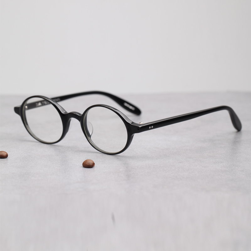 ecd07c4324a ... Small glasses glasses oval eye frames handmade glasses myopia small  face glasses frame personality small round ...