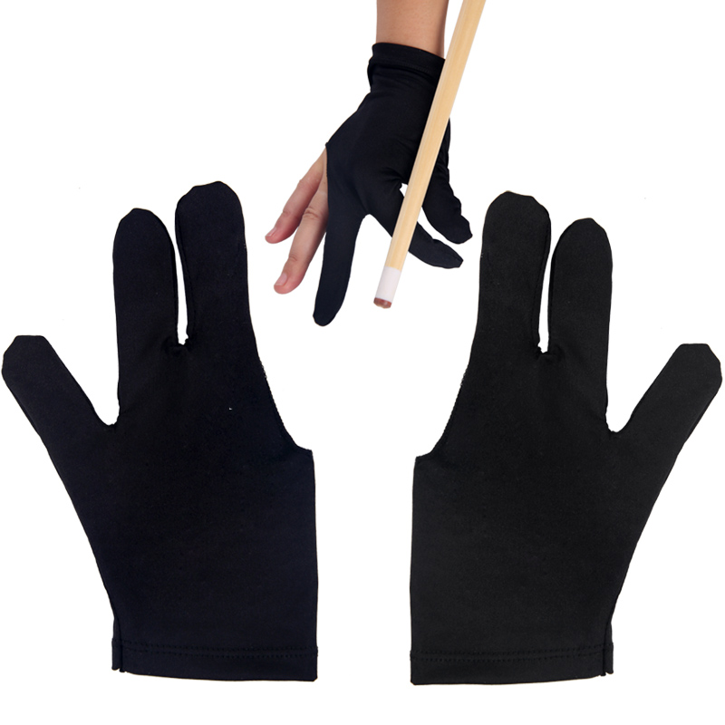 USD Billiard Table Ball Three Finger Gloves Billiard Gloves - Billiard pool table supplies