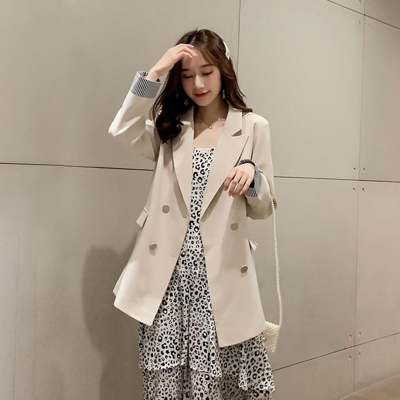 小西装学生女春秋季2019新款韩版宽松网红小西服气质上衣时尚外套