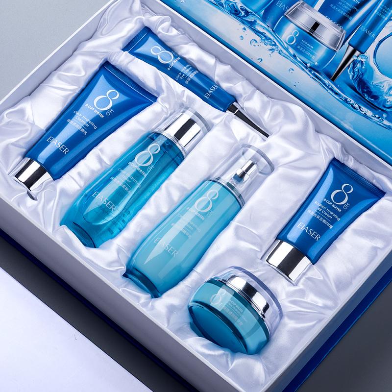 【伊夏】八杯水补水美肌礼盒装六件套