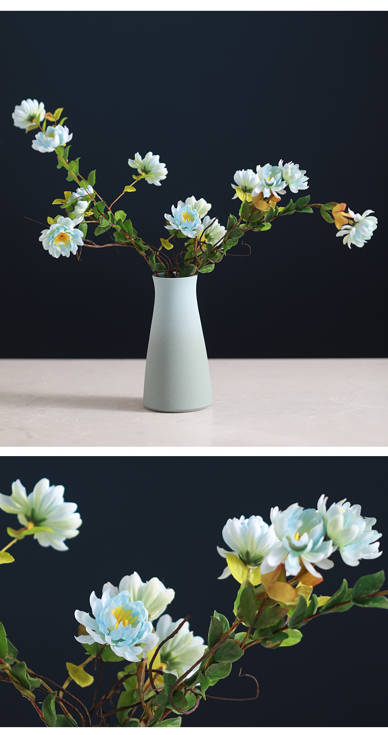 The Nordic desk gradient ceramic vase suit I and contracted household living room table dry flower flower arranging flowers, furnishing articles