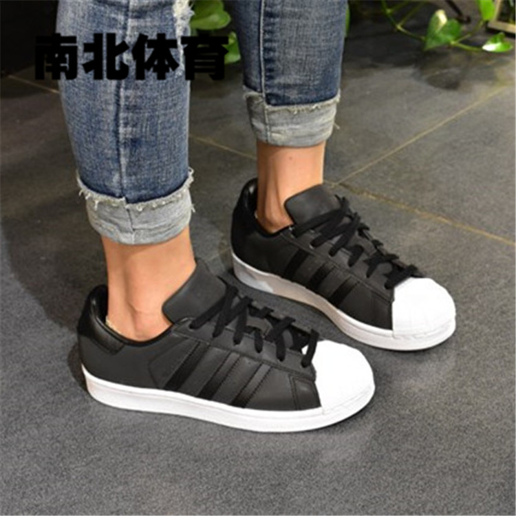 purchase cheap a48af 7540c 南北酷动城Adidas Superstar 三叶草反光3M 女子板鞋BY9176|BUY败 ...