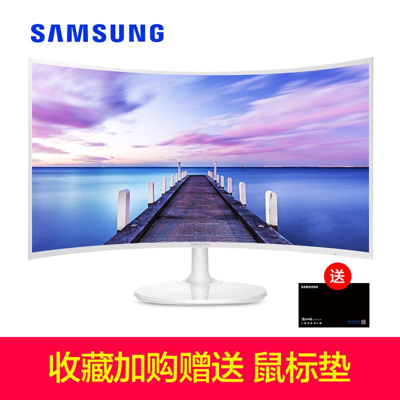 三星27英寸曲面顯示器 C27F391FHC電競曲屏液晶臺式電腦屏幕hdmi
