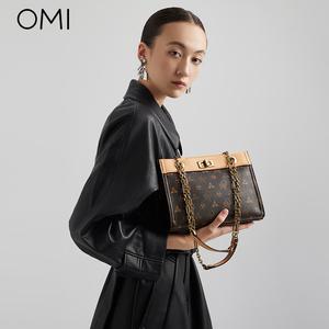 欧米-新款潮时尚手提包复古高级感单肩包女