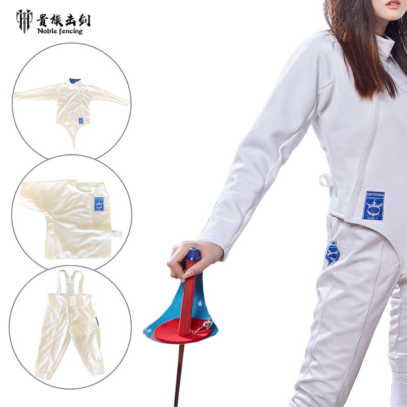 Охранная служба детские Защитная одежда для фехтования 3 накладки Фольги костюмы меч