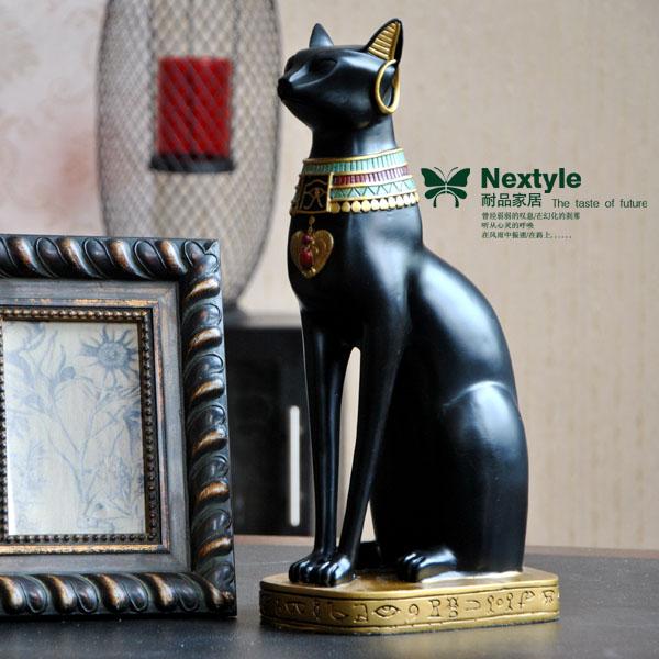亮女神贝诗特古埃及法老猫神摆件招财辟邪镇宅图片