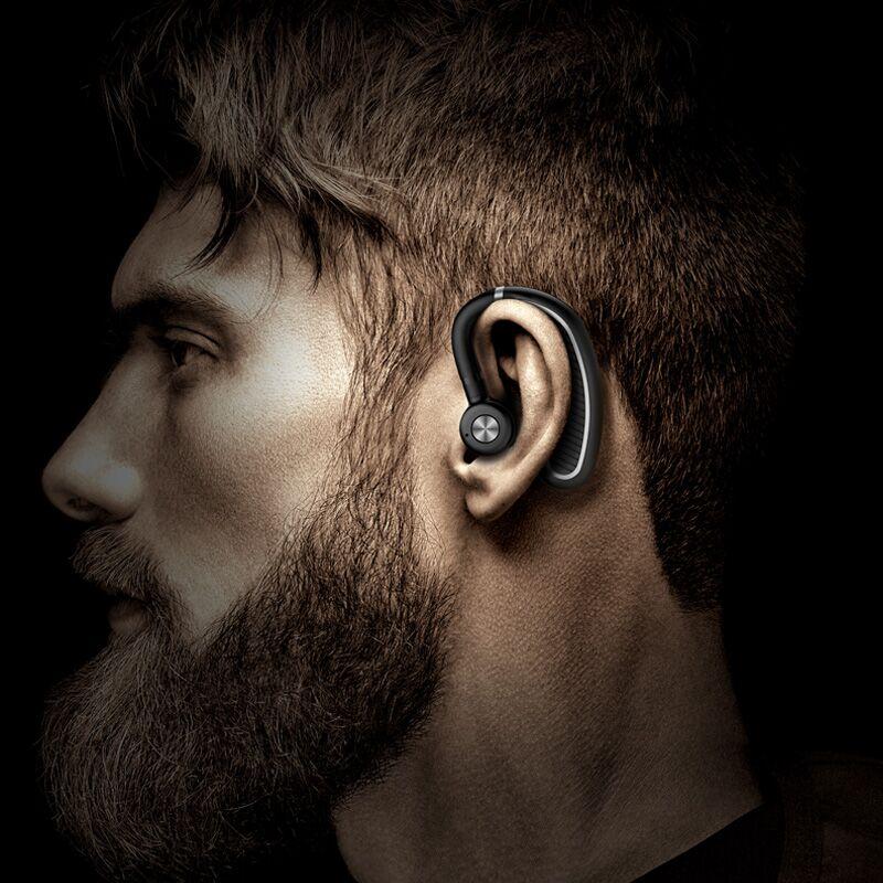 无线蓝牙耳机单耳挂耳式不入耳骨传导概念正品原装篮牙耳麦运动跑步开车电话专用超长待机苹果oppo通用型男女
