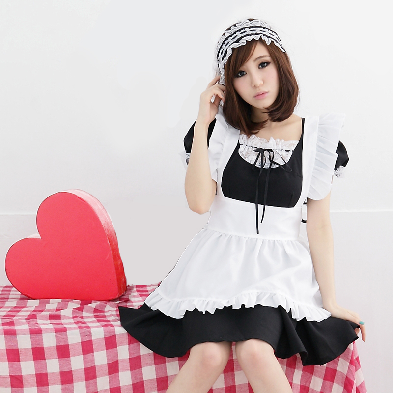 Usd 39 14 Maid Service Cos Maid Costume Cosplay Costume Sexy Anime