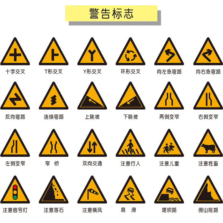 Triangle Road Signs >> Usd 5 22 Traffic Signs Road Signs Triangle Signs Aluminum Road
