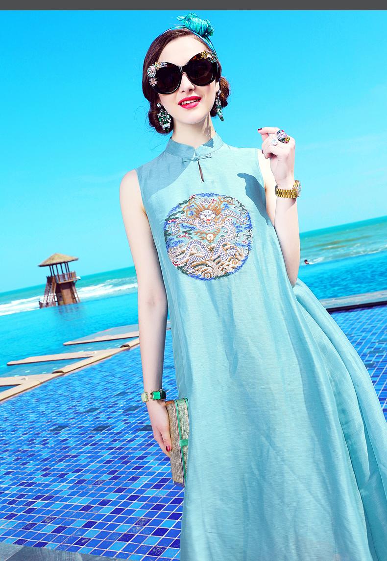 卡米兰2017夏季新款连衣裙(五) - 花雕美图苑 - 花雕美图苑