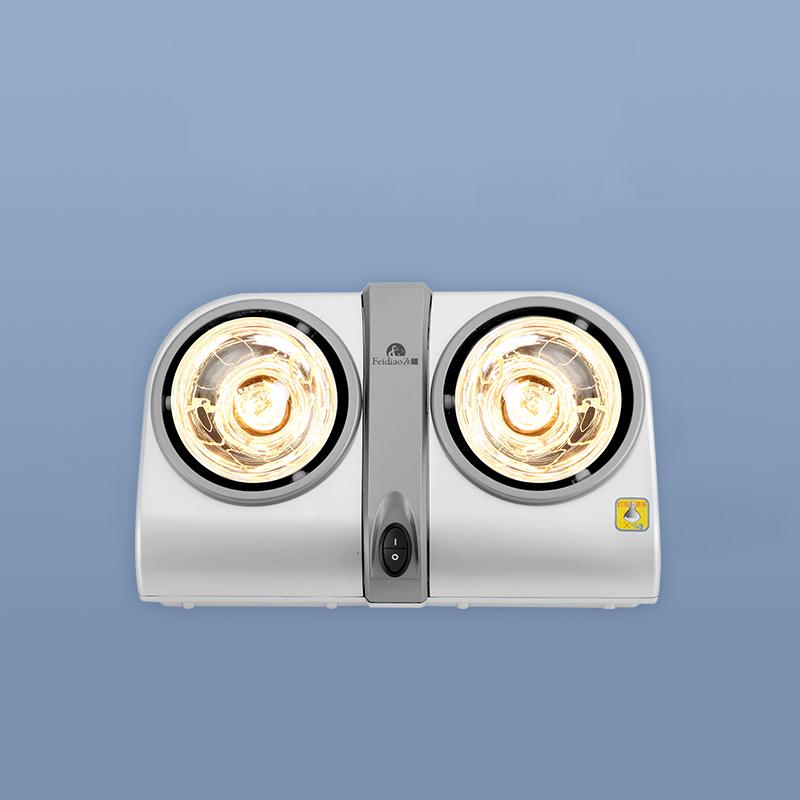 飞雕灯暖浴霸灯排气扇照明一体卫生间取暖浴室集成吊顶三合一壁挂