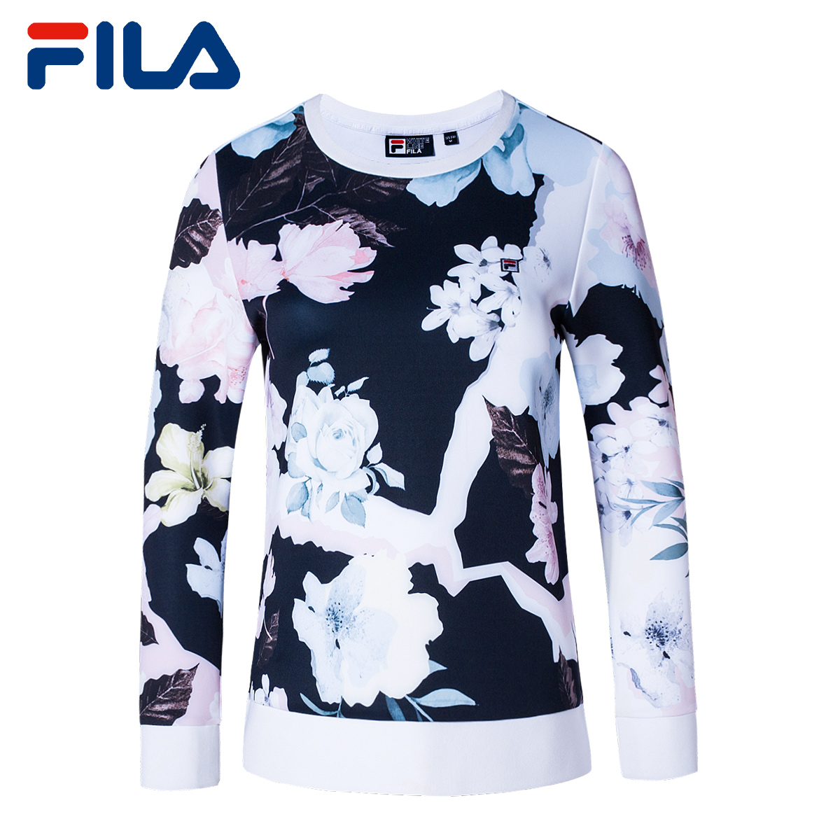 e4f415503122 USD 169.64  FILA Fei Le women s sweater spring new hedging fashion ...