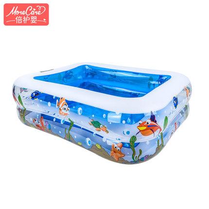 倍护婴  多功能加厚充气泳池